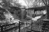 Minnehaha Falls in the winter, Minneapolis, MN. 35mm 125PX.