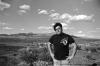 Nate at the volcano cone near St. George, Utah.