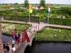 The gardens at Muiderslot.