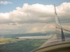 Beautiful view from the Cessna 172.