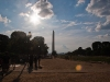 The Washington Monument and the National Mall.