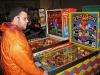 Nathan at the Pinball Hall of Fame, Las Vegas, NV playing Qbert\'s Quest.