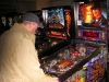 Troy playing Freddy - A Nightmare on Elm Street pinball game at the Pinball Hall of Fame in Las vegas, NV.
