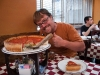 Yummy Chicago style stuffed pizza at Giordano\'s in Chicago.