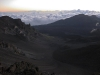 A view from the top of Haleakala at 9,500 feet.