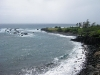 A windy day near Hana, Maui.