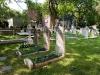 A cemetery in Philadelphia.