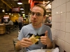 That is a big thumbs up for my first ever Philly cheese steak.  I had to have one since I was there.