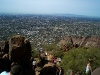 Part of the hike up Camelback Mountain in Phoenix, Arizona.