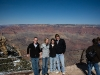 The Group at the Grand Canyon. Me, Missy, Amanda, and Mark.