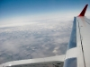 The wing of an Airbus 320 on my way down to Phoenix.