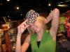 Missy playing around around at a shop in Scottsdale, AZ.