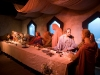 The last supper in wax.