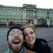Kate and I by Buckingham Palace.