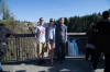 Tiffany, Chad and I at Snoqualmie Falls, WA.