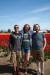 Chad, Tiffany and I in the tulip fields. Roozengaarde, Mt. Vernon, WA.