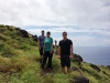 Preston, Sam, Stacy and I at Lahaina Pali Trail hike, Maui, HI.