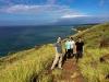 Lahaina Pali Trail hike, Maui, HI.