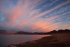 Lake Mead sunset.